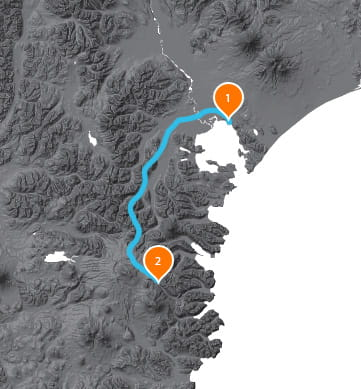 detailed map