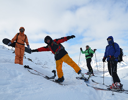 Freeride and Backcountry skiing