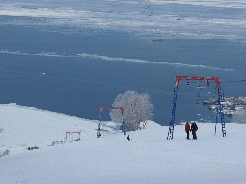 Ski resorts in Kamchatka