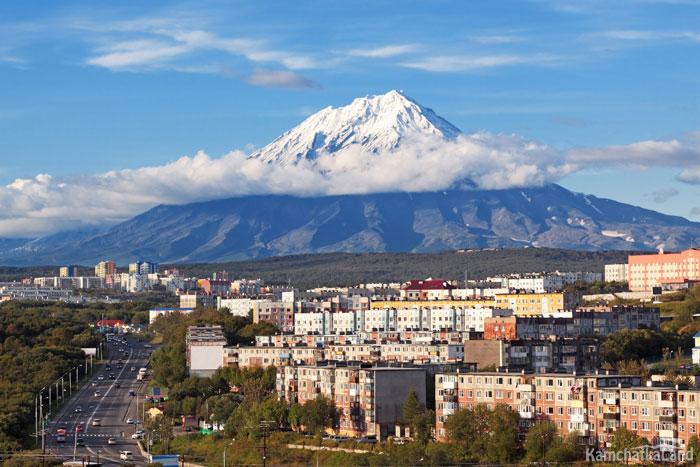 Koryak volcano