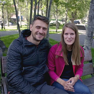 Sebastian and Janina - Bears, Volcanoes and Orcas 2019
