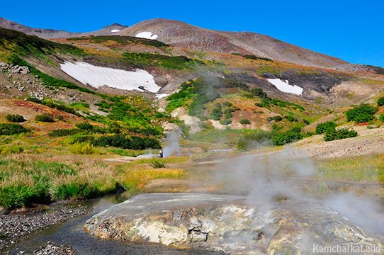 most popular hot springs kamchatka