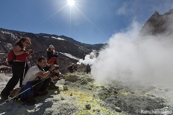 фото тур на Мутновский вулкан
