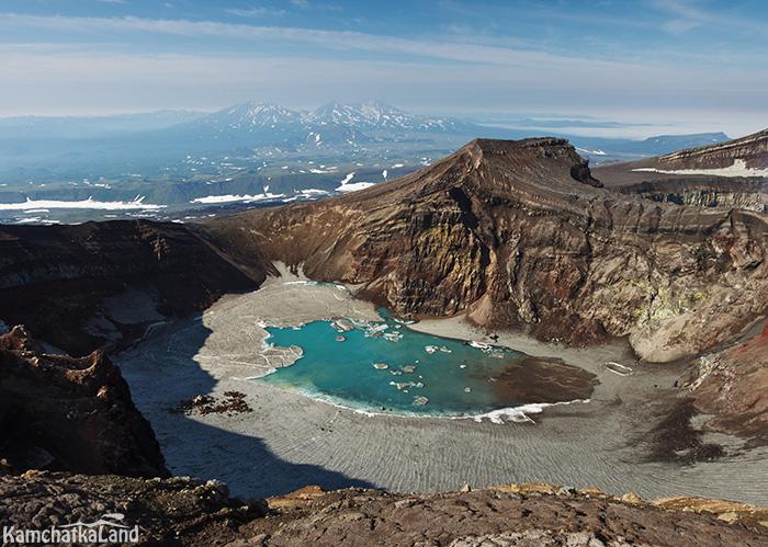 фототур на вулкан Горелый Камчатка