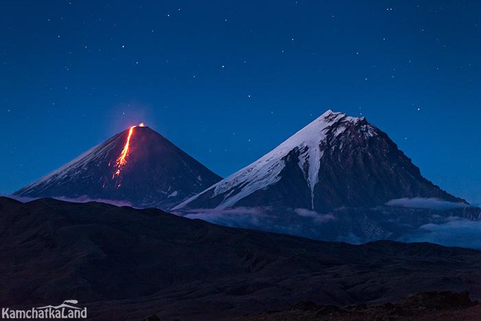 съемка вулканов