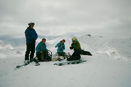skiing tours Kamchatka