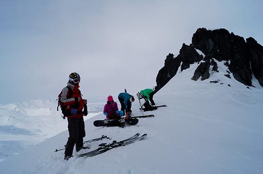 freeride camp Kamchatka