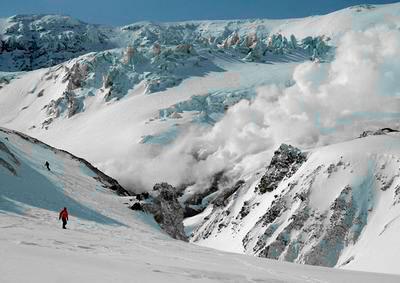 Хели ски на Мутновском