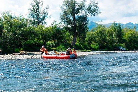 Rafting Bystraya river