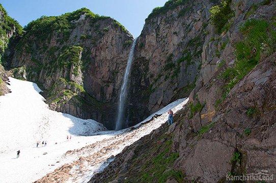 viluchinsky Waterfall